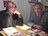 Hainz Badewitz und Rainer Hübsch